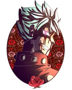 All my favorite beans first! XD Just fyi lust is probably gonna be last xD It's the fox boi tho! Sin of Greed: Ban I Love Him, My Love, Seven Deadly Sins Anime, Greed, His Eyes, Daddy, Darth Vader, Deviantart, My Favorite Things