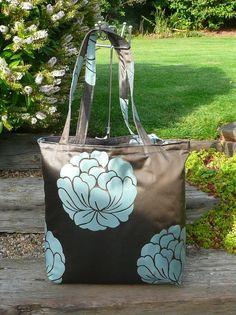 Tote, Bag, Book Bag, Floral Bag, Stripe Bag, Shopping Bag, Eco Friendly Bag, £10.00