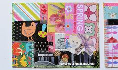 Making your own Cut and Paste Collage Postcards is the easiest way to get a handmade postcard out the door - the DIY style. So get out your scissors! #diypostcardswap