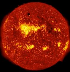 Venus Transiting the Sun - The Space