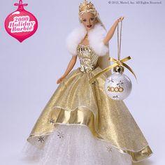 Celebrating 25 years of Holiday Barbie #HolidayBarbie