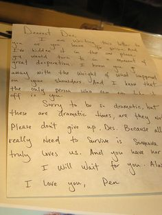 Penny's letter to Desmond,Lost. I Feel Lost, Im Lost, Lost Love, Serie Lost, Lost Tv Show, Living Together, In Another Life, Paradise Found, Love You