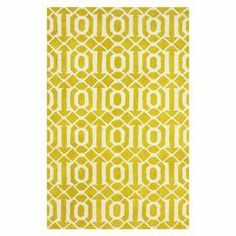 A striking trellis motif highlights this hand-tufted wool rug, offering a chic finishing touch for your living room or master suite decor.   Product: RugConstruction Material: 100% WoolColor: GoldFeatures: Hand-tuftedNote: Please be aware that actual colors may vary from those shown on your screen. Accent rugs may also not show the entire pattern that the corresponding area rugs have.Cleaning and Care: Spot treat with a mild detergent and water. Professional cleaning is recommended if…