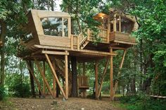A Wonderful Haven In The Treetops at Almke near Wolfsburg, Germany.  See more at: www.goodshomedesign.com
