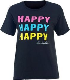 PIVOTAL PARTNERS LLP Ladies Duck Commander S/S Shirt Happy Happy Happy Large, EA