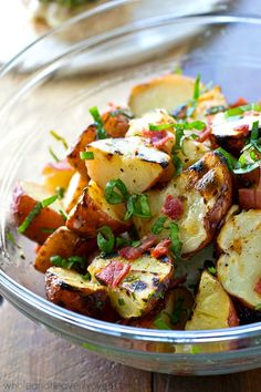 Grilled Red Potato S
