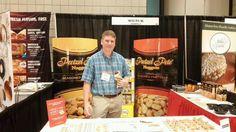 Pretzel Pete's booth, #SFFS15 @SBGlobal_Foods @tradePA #WorldTradeCenterHarrisburg