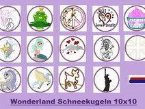 kl. Stickdatei  ♥Wonderland♥   10x10