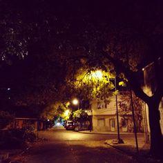 Noche de otoño - Pasaje en Liniers  - CapitalFederal - BsAs - Argentina !