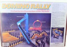 #ErectorSet  #DominoRally #Hobbies  #Vintage  #Pressman #Dominoes #BuildingToys #VintageToys