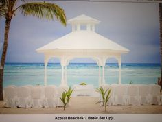 This is the new Gazebo at the Majestic Colonial in Punta Cana. I have booked my wedding for nov 28, 2013 and chose this site. You can chose a chapel, another huge Gazebo in the middle of the resort or the beach :)