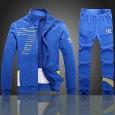 EMPORIO ARMANI SWEATSHIRTS & HOODIES SET, HOODIES AND PANTS, COTTON Armani » Sets Hoodies & Sweatshirt & Sets itemswe.com