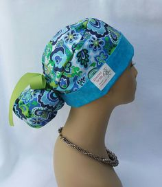 Check out this item in my Etsy shop https://www.etsy.com/listing/294832191/scrub-hat-scrub-hat-with-ponytail-and