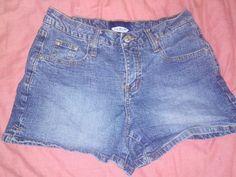 26382f7e933 LA Blues Stretch Jean Denim Shorts Size 6 Pocket Medium Wash  LABlues   CasualShorts