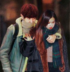 Exo Couple, Couple Goals, Park Chanyeol, Sehun, Iphone Wallpaper Pinterest, Kpop Couples, Nayeon Twice, Make You Cry, Hanbin
