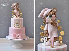 Drowsy Teddy Bear by Lorna