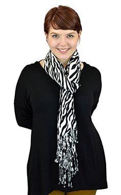 Belle Donne - Women Fashion Soft Wrap Shawl Animal Print - Black with White Zebra Belle Donne http://www.amazon.com/dp/B010R1KYQ6/ref=cm_sw_r_pi_dp_RpZ-vb0FZDSM2
