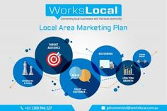 Do you want to get more leads for your business from your local community? Contact Workslocal local area marketing team today. The Local Area Marketing Plan is about having a powerful strategy, ideas and plans that enable you to connect your local business with customers.They will offer various business promoting services including Local area marketing strategies, promotional products, social media marketing tips, paid Facebook, twitter, video promotion and more.