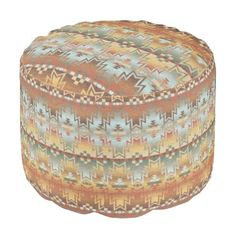 "Title : 203 Tribal, Native American, Brown Beige Blue Prin Pouf  Description : Words to describe Tribal; ""Native-American's, Indian, Tribes, ""Tribal-Prints"", ""Geometric-Patterns"", ""Miscellaneous-Shapes"", Diamonds, Squares, Arrows, ""Repetitive-Patterns"", ""Fabric-Weaving"", Tapestry, Beads, ""Animal-Bones"", ""Ethnic-Tribes"", Cultural, Cultures, ""Southwest-Patterns"", ""Animal-Pattern-Prints"", ""Ethnic-Prints"", Ganado, ""Native-Traditional-Patterns"", Ikat, ""Navajo-Art"", Weaving, ""Design-Elements…"