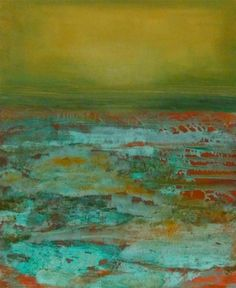 Karen Hopkins ~ Seeing Beneath the Surface (mixed media) . . . encaustic possibilities