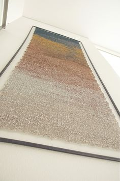 Crochet painting 250X100 cm