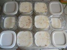 Yaourt Vanille - Flocons d'avoine - Cuisine maison & gourmande de Sylvmel Omelette Muffins, Cooking Time, Cooking Recipes, Frozen Desserts, Smoothie Bowl, Delicious Desserts, Natural Remedies, Food And Drink, Nutrition