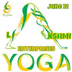 Lakshmi Enterprises: World yoga day