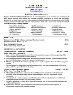 Military To Civilian Resume Examples Government & Military Resume Examples  Government & Military