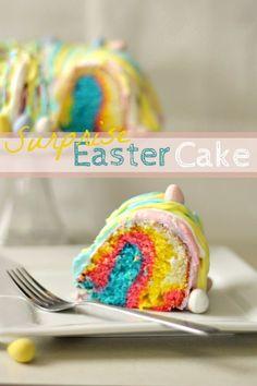 Surprise Easter Bundt Cake