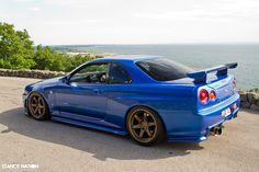 Nissan Skyline GTR R34 Spec II