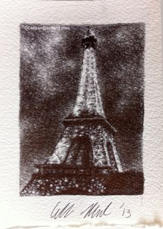 Paris Lights, 2013 Ballpoint on paper SOLD Paris Lights, Ballpoint Pen Drawing, Small Drawings, Abstract, Paper, Artwork, Summary, Pen Drawings, Work Of Art