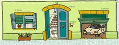 """#Vocabulari de la casa """"la entrada"""" en #Català #EducacióPrimaria"""