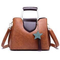 High-quality Women Oil Wax Leather Retro Handbag Crossbody Bag - NewChic  Mobile Black Leather ba7cc51381f46