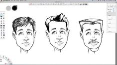 How to draw hair - sketchbook pro tutorial - video narrated by robert ma. Cartoon Drawing Tutorial, Drawing Tutorials, Drawing Techniques, Video Tutorials, Girl Face Drawing, Cartoon Girl Drawing, Cartoon Drawings Of Animals, Animal Sketches, Under Armour