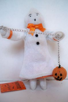 Ghost - Halloween Series, Heartfelts Ornaments, Midwest of Cannon Falls
