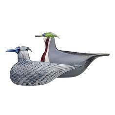 Oiva Toikka, Wood Ducks, Museum of Glass, Tacoma Glass Museum, Glass Birds, Bird Art, Scandinavian Style, Glass Art, Antiques, Wood, Ducks, Aalto
