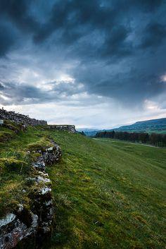 Stormy Skies over Wensleydale, North Yorkshire, England