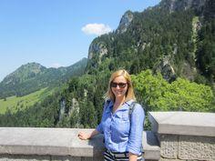 Me at Neuschwanstein, Germany
