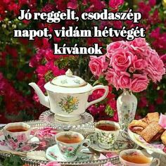 Good Morning Good Night, Coffee Time, Tea Cups, Tableware, Sweet, Vans, Dinnerware, Dishes, Tea Cup