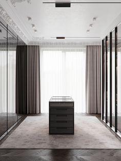 Walk In Closet Design, Bedroom Closet Design, Closet Designs, Home Decor Bedroom, Master Bedroom, Luxury Wardrobe, Luxury Closet, Garderobe Design, Wardrobe Room