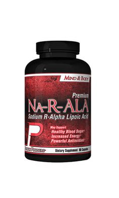 Na-R-ALA is the sodium salt of R-ALA. It has a higher solubility, improved stability, and higher bioavailability than just R-ALA. ALA (Alpha Lipoic Acid) is a mitochondrial fatty acid that is highly involved in energy metabolism. It is also a powerful antioxidant, which attacks and neutralizes free radicals; free radicals damage cells, organs, and tissues. By attacking these free radicals, ALA helps protect cells, organs, and tissues throughout the body.