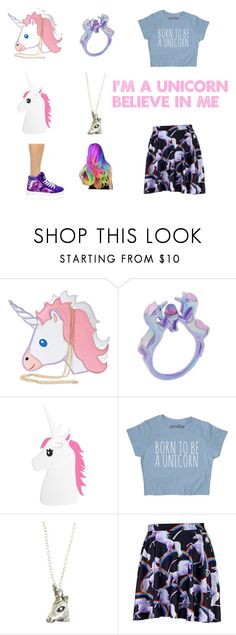 """""""Unicorn"""" by crystalalpha ❤ liked on Polyvore featuring Nila Anthony and Boohoo"""