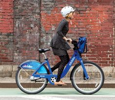 Citibike in NY is a great way to explore!