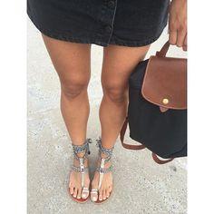 'Backpacking' around California  Backpack @longchamp  Skirt @bershkacollection  Sandals @asos  #outfit #ootd #ootdshare #ootdinspo #wiw #wiwt #lotd #currentlywearing #ootdcali #londongirl #calistyle #fashion #backpack #casual #beachwear #fwis #asos #asseenonme #fashiongram #instafashion #igfashion #travel #holiday #vacay #California
