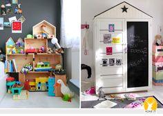 HOME IT!: Белая детская. Детали. Часть 1. Место для игр и хранения игрушек.