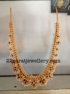 Gutta Pusalu Necklace 80grams