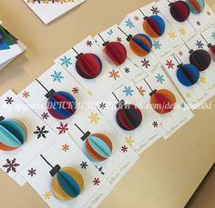 Billedresultat for bricolage maternelle Diy Christmas Cards, Christmas Crafts For Kids, Christmas Activities, Kids Christmas, Holiday Crafts, Christmas Decor, Christmas Ornament, Diy For Kids, Diy Gifts