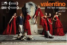 Fashion designer Valentino Garavani concluded his final haute couture show with red dresses.