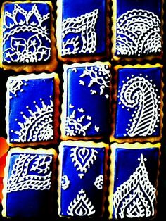 Mehndi #Cookies : These cookies are #wow