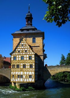 Altes Rathaus in Bamberg, Bavaria, Germany